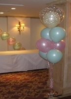 Balloon decoration ideas for Balloon cluster decoration