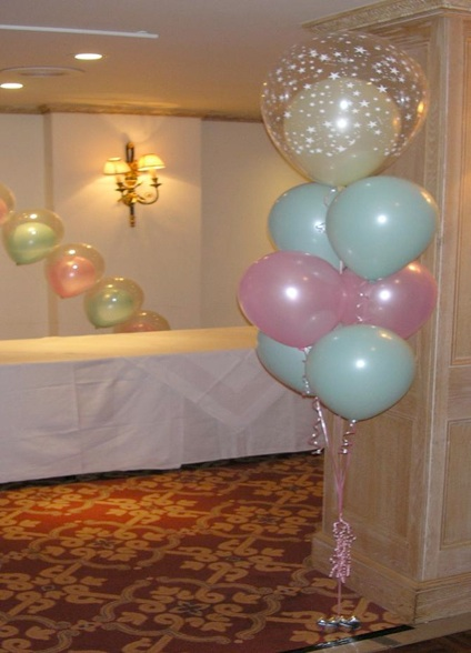 Balloons decoration ideas images 3 for Balloon cluster decoration