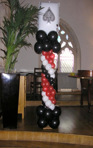 Balloons decoration ideas images 7 for Balloon decoration gallery
